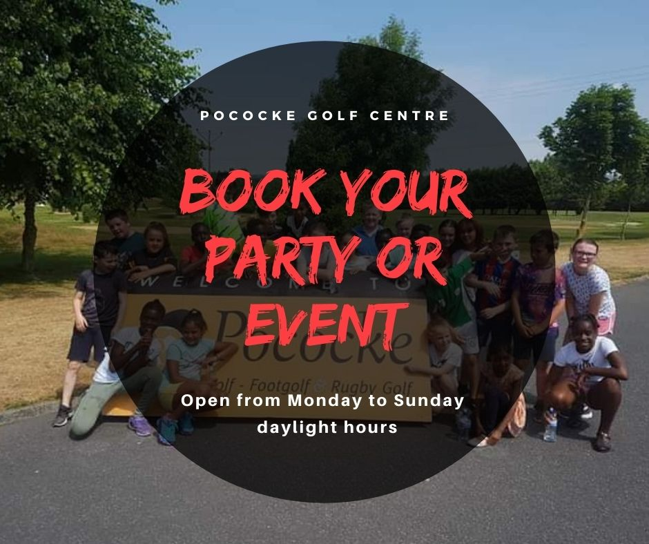 book your party or event at pococke