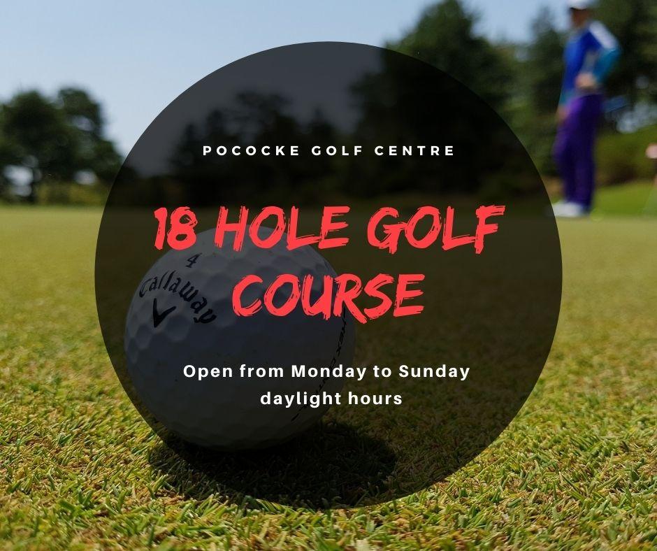 pococke golf sign
